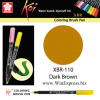 XBR-110 Dark Brown - SAKURA Koi Brush Pen