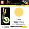 XBR-04 Deep Yellow - SAKURA Koi Brush Pen