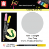 XBR-153 Light Cool Gray - SAKURA Koi Brush Pen