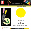 XBR-03 Yellow - SAKURA Koi Brush Pen