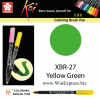 XBR-27 Yellow Green - SAKURA Koi Brush Pen