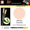 XBR-205 Coral Red - SAKURA Koi Brush Pen