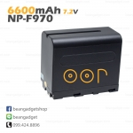 Li-on Rechargeable battery NP-F970 For Sony( YN-300 YN-600 Godox LEDP120C ) แบตเตอรี่กล้องโซนี่