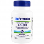 โคเอนไซม์คิว 10 Super-Absorbable CoQ10 (Ubiquinone) with d-Limonene 60 softgels
