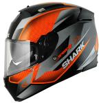 Shark Speed-R Tanker Black/Orange/Silver