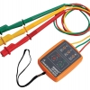 3 Phase Sequence Rotation Indicator Tester Checker 60~600V LED & Buzzer