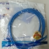 "CAT5E PATCH CORD 2M ""LINK"" สีฟ้า"