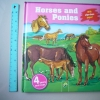 Horses and Ponies (With Wipe-Clean Pages)