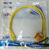 "CAT5E PATCH CORD 1M ""LINK"" สีเหลือง"