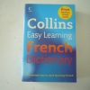 Collins Easy Learning FRENCH Dictionary (Free Online Study Pack)