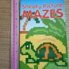 Sneaky Picture MAZES (Conceptis Puzzles)