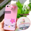 Kitty cartoon back cover iPhone 5/5S/SE