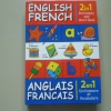 English French (2 in 1 Dictionary and Word Book)