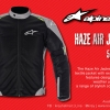 Alpinestars : HAZE Air Jacket : Black Grey