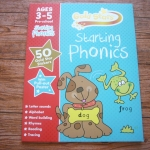 Gold Stars: Starting Phonics (Ages 3-5 Pre-school)