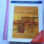 Statistics For The Behavioral Science (Seventh Edition)