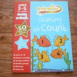 Gold Stars: Starting to Count (Ages 3-5 Pre-school)