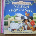 Animal Hide-and-Seek (Usborne Touchy-Feely Farmyard Tales)