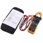 แคลมป์มิเตอร์ (Digital Clamp Meter) รุ่น MS2108a AC/DC Current Voltage 400 VDC 600VAC