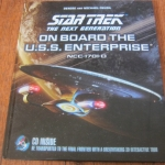 Star Trex the Next Generation on Board the U.S.S. Enterprise NCC-1701-0 (CD included)