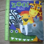 ZOO! A Big Fold-out Counting Book
