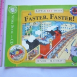 Faster, Faster! (Little Red Train) Book and CD