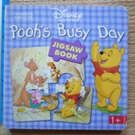 Pooh's Busy Day (Jigsaw Book)