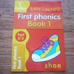 Easy Learning: First Phonics Book 1 (Age 3-5)