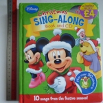 (Disney) Christmas Sing-Along (Book and CD)