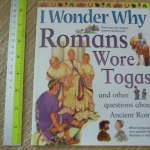 I Wonder Why Romans Wore Togas and Other Questions About the Oceans