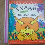Snappy Little Dinosaurs (Pop-Up Book)