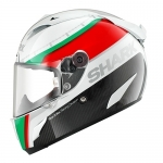Shark RACE-R PRO Carbon - Racing Divis - White Green Red