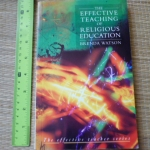 The Effective Teaching of Religious Education