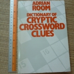Dictionary of Cryptic Crossword Clues