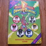 Mighty Morphin Power Rangers Official Annual 1996