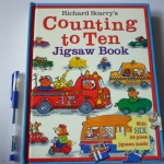 Richard Scarry's Counting to Ten (Jigsaw Book)