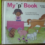 """My """"p"""" Book (My First Steps To Reading) ปกขาว"""