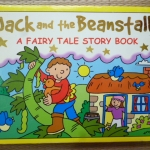 Jack and the Beanstalk: A Fairy Tale Story Book (Board Book)