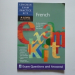 FRENCH, Longman Exam Practice Kits A-Level and AS-Level