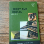 Equity And Trusts 2010-2011