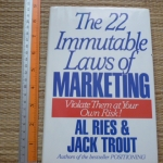 The 22 Immutable Laws of Marketing (Violet Them at Your Own Risk!)