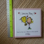 I Love You Mum,,, (Mini Book)