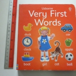 Usborne Very First Words (Board Book)