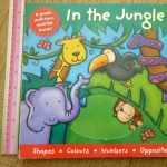 In The Jungle (A Push-Pull-Turn and Lift Book)