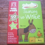 Gold Stars: Starting to Write (Ages 3-5 Pre-school)