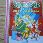 Simpsons Comics 2017 Annual