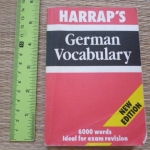 Harrap's German Vocabulary (New Edition)