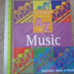 Oxford Children's A to Z: MUSIC