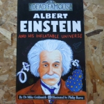 Dead Famous: Albert Einstein and His Inflatable Universe (ปกหน้าตรง)