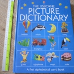 The Usborne Picture Dictionary (A First Alphabetical Book)